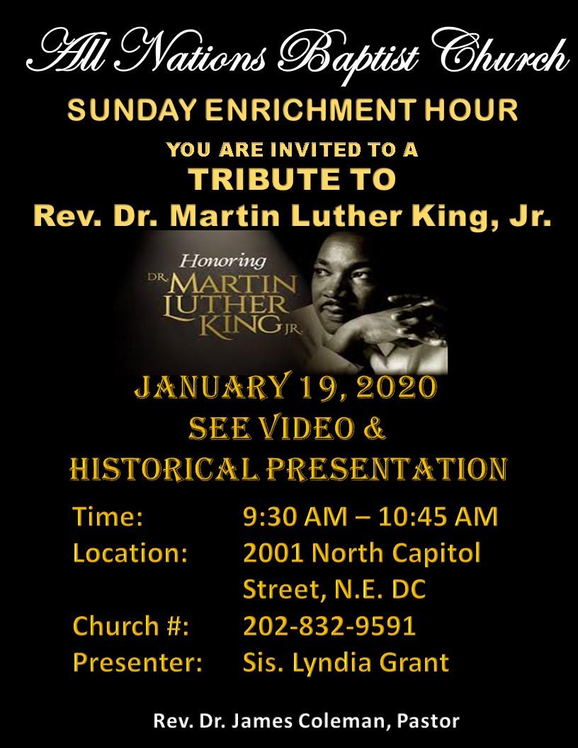 MLK AT ANBC JANUARY 19 2020
